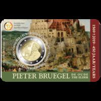 Belgia 2 € 2019 Pieter Brugel BU coincard