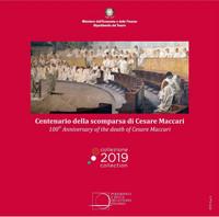 Italia 2019 BU rahasarja 8,88 € Cesare Maccari