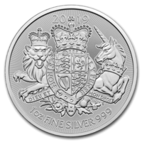 Britannia 2 £ 2019 Royal Arms BU 1oz HOPEA