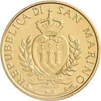 San Marino 5 € 2019 San Marino 5G UNC