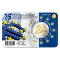 Belgia 2 € 2019 Euroopan rahapoliittinen instituutti BU coincard