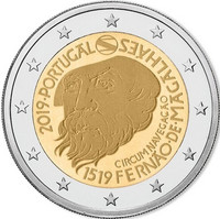 Portugali 2 € 2019 de Magalhães 500 v., Proof