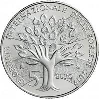 San Marino 2019 BU 8,88 € Maailman metsäpäivä rahasarja