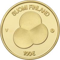 Suomi 100 € 2019 Suomen Hallitusmuoto 1919 Au, Proof