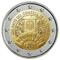 Andorra 2 € 2019 Consell de la Terra BU coincard