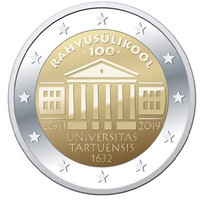 Viro 2 € 2019 Tarton yliopisto BU coincard