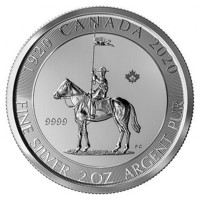 Kanada 10 $ 2020 Mounted Police 2 oz HOPEA