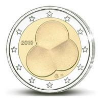 Suomi 2 € 2019 Suomen Hallitusmuoto 1919, rulla