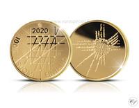 Suomi 100 € 2020 Turun yliopisto 100 vuotta Au, Proof