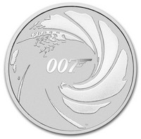 James Bond 2020 1oz hopearaha