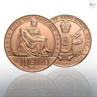 Vatikaani 10 € 2020 La Pietá - Michelangelo