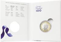 Suomi 5 € 2016 Suomen Presidentit - K.J. Ståhlberg, Proof