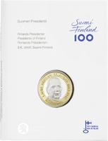 Suomi 5 € 2016 Suomen Presidentit - L.K. Relander, Proof
