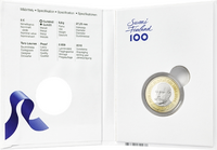Suomi 5 € 2016 Suomen Presidentit - P. E. Svinhufvud, Proof