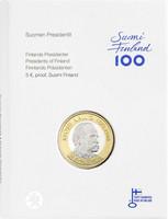 Suomi 5 € 2016 Suomen Presidentit - Kyösti Kallio, Proof