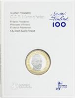 Suomi 5 € 2017 Suomen Presidentit - C.G.E Mannerheim, Proof