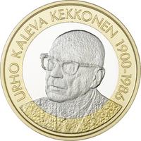 Suomi 5 € 2017 Suomen Presidentit - U.K. Kekkonen, Proof