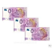 Suomi 0 € 2020 Suuriruhtinaat - 3 ensimmäistä seteliä UNC