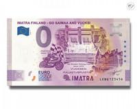 Suomi 0 € 2020 Imatra (Go Saimaa & Vuoksi) -virheseteli