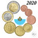 San Marino 1s - 2 € 2020 BU