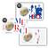Ranska 3 x 2 € 2020 Lääketieteellinen tutkimus BU coincard