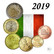 Italia 5s - 2 € 2019 UNC