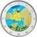 Malta 2 € 2020 Pelit, väritetty (#1)