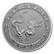 Niue 2020 Kiinan taivaalliset eläimet - keltakäärme 1oz hopearaha