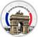 Arc de Triomphe 2 € -juhlaraha, väritetty