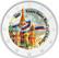 Pyhän Vasilin katedraali 2 € -juhlaraha, väritetty