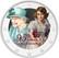 Kuningatar Elisabet II 2 € -juhlaraha, väritetty