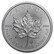 Kanada 2021 Maple Leaf hopearaha 1 oz