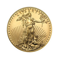 American Eagle 1/10 oz 2021 kultakolikko