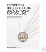 Portugali 2 € 2021 EU-puheenjohtajuus BU coincard