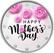 Äitienpäivä 2 € 2021 juhlaraha, väritetty