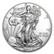 Yhdysvallat 2021 American Silver Eagle hopearaha