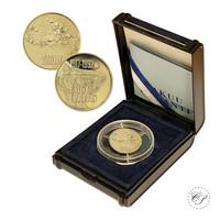 Suomi 1000 mk 1992 Itsenäisyys 75 vuotta kultaraha