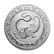 Niue 2021 Kiinan taivaalliset eläimet - Musta kilpikonna 1oz hopearaha