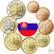 Slovakia 1s - 2 € 2021 BU