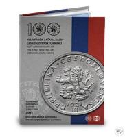 Slovakia 2021 Proof rahasarja Ensimmäiset Tsekkoslovakian rahat