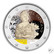 Vatikaani 2 € 2021 Caravaggio BU, väritetty (#2)