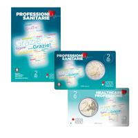 Italia 2 € 2021 Terveydenhuollon ammattilaiset BU coincard