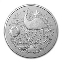 Australia 2021 Vaakuna - Emu & Kenguru 1oz HOPEA