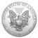 Yhdysvallat 2017 American Silver Eagle hopearaha