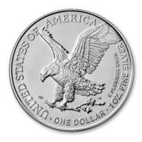 Yhdysvallat 2021 American Silver Eagle, design #2