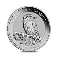 Australia Kookaburra 1/10z 2021 platinaraha