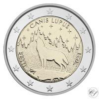 Viro 2 € 2021 Kansalliseläin - Susi, BU coincard