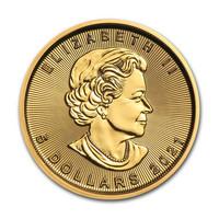 Kanada 2021 Maple Leaf 1/10oz kultaraha
