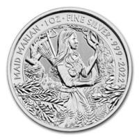 Kuninkaallinen Rahapaja 2022 Marian-neito - Myytit & Legendat 1oz HOPEA