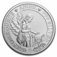 Itä-Intian kauppakomppania 2021 Napoleonin enkeli 1oz hopearaha
